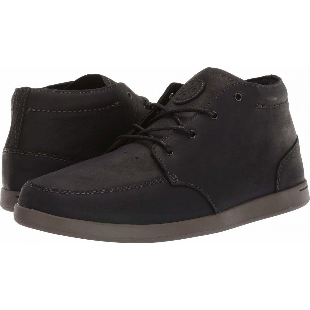 リーフ Reef メンズ スニーカー シューズ・靴【Spiniker Mid NB】Black/Charcoal