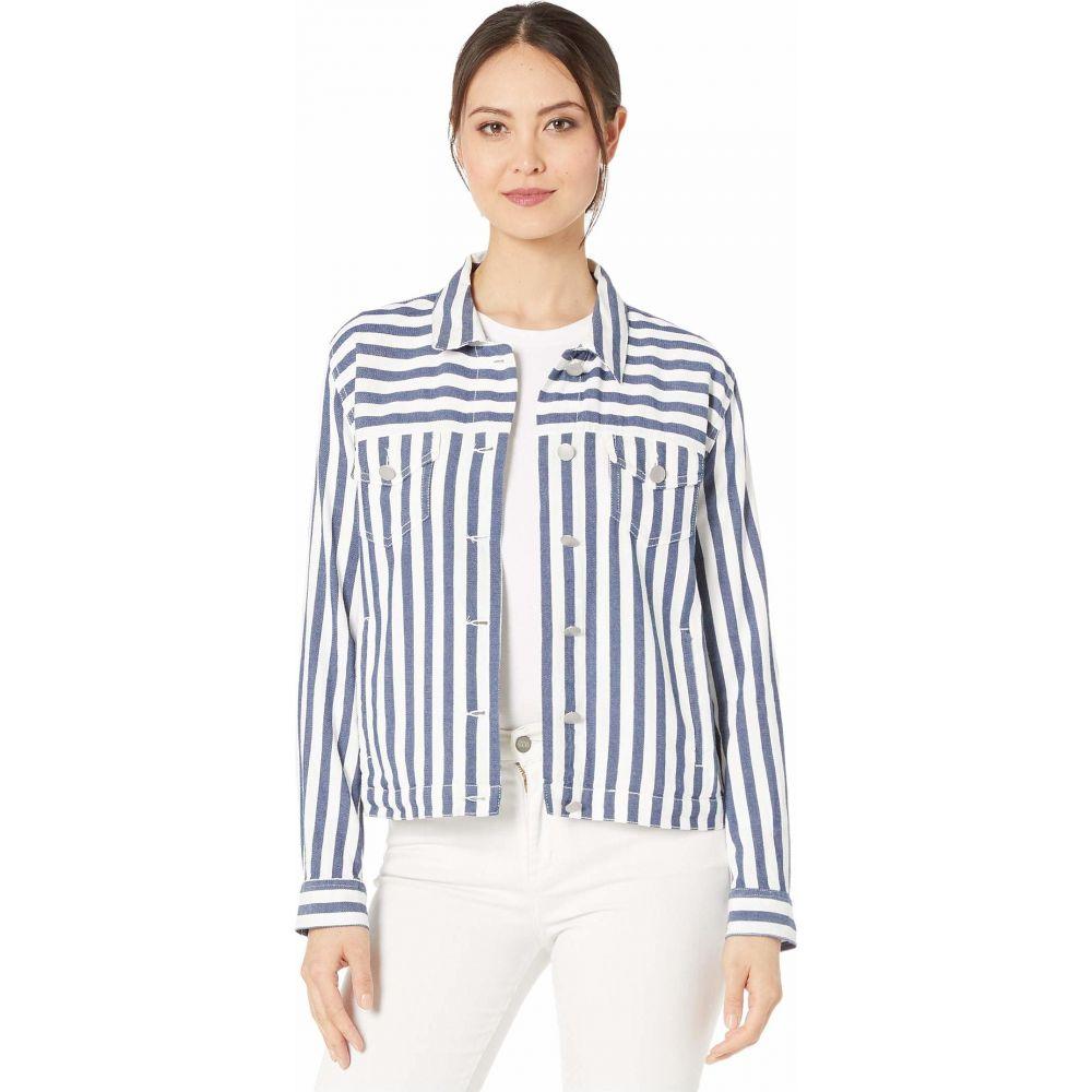 ヴィンス カムート Vince Camuto レディース ジャケット アウター【Boardwalk Stripe Jacket】Classic Navy