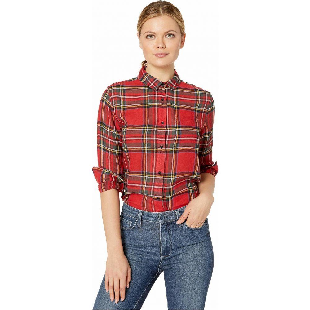 ペンドルトン Pendleton レディース ブラウス・シャツ トップス【Helena Button Front Shirt】Red Tartan Plaid