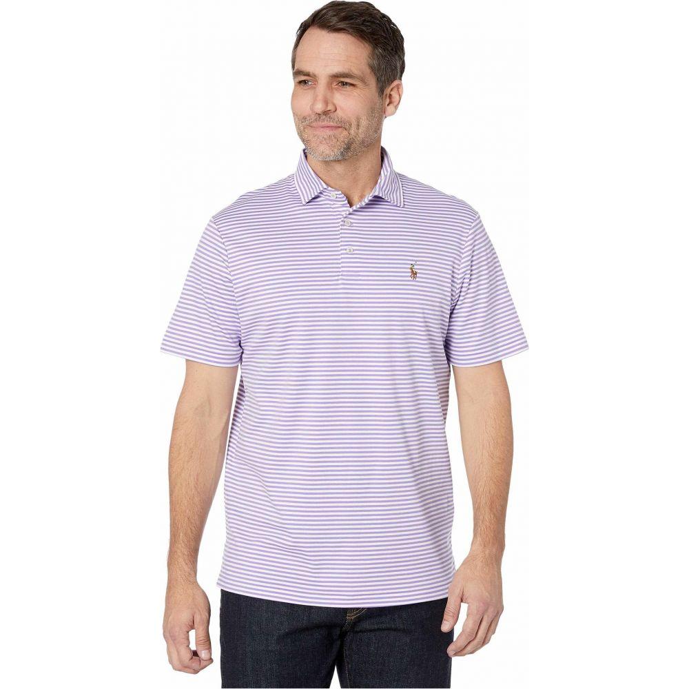 ラルフ ローレン Polo Ralph Lauren メンズ ポロシャツ トップス【Classic Fit Soft Touch Polo】Hampton Purple/White