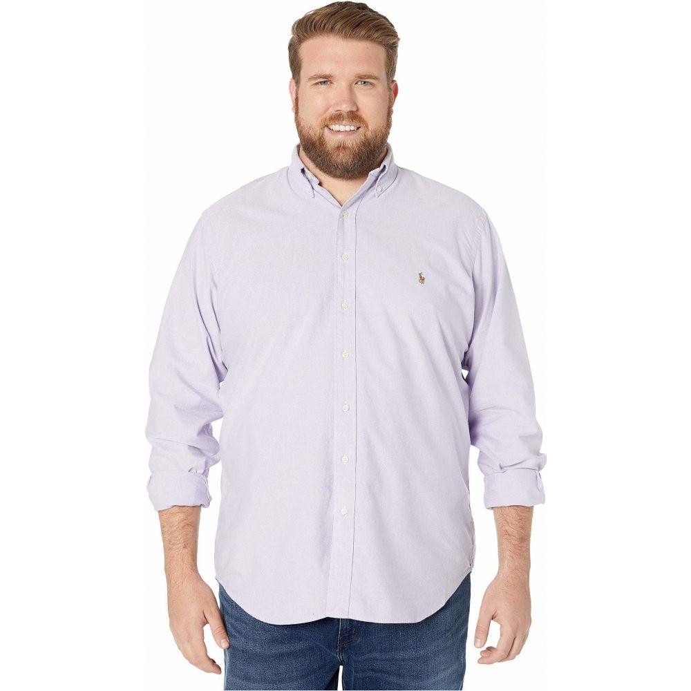 ラルフ ローレン Polo Ralph Lauren Big & Tall メンズ シャツ 大きいサイズ トップス【Big & Tall Long Sleeve Plaid Oxford Shirt】Thistle