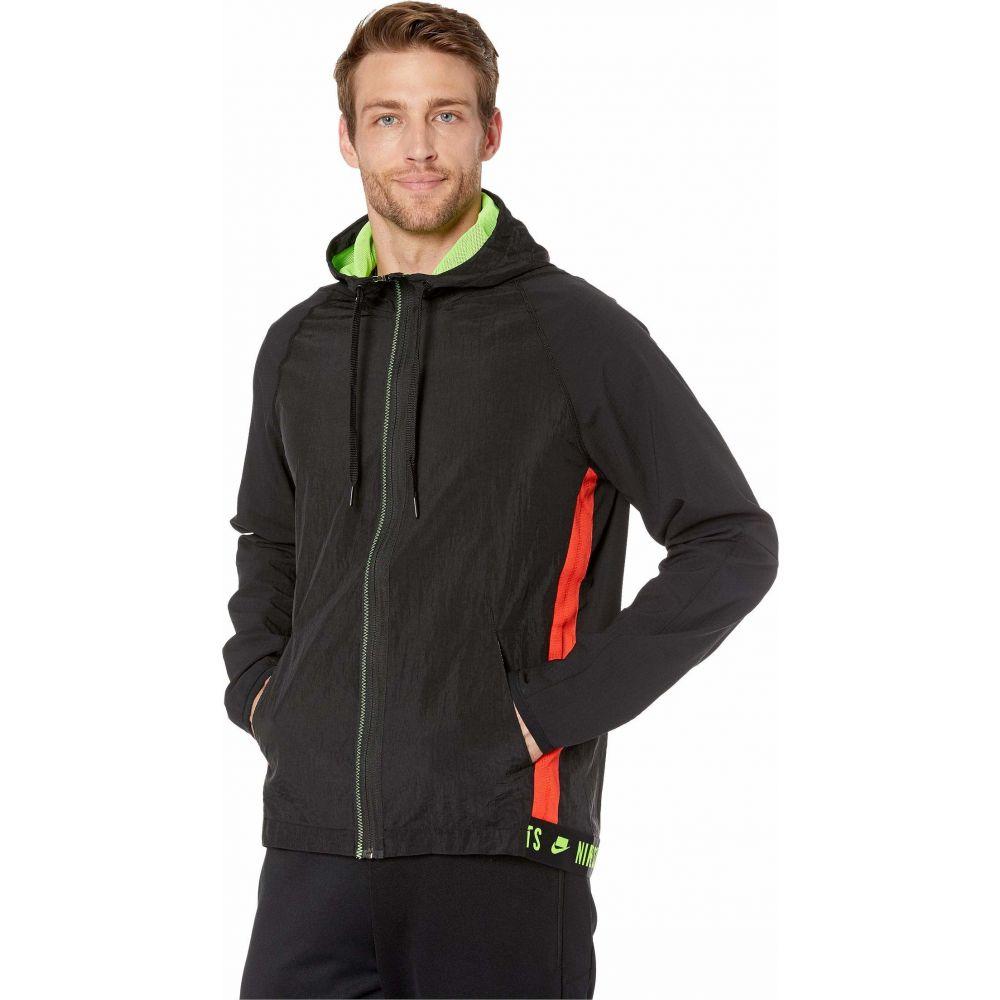 ナイキ Nike メンズ ジャケット アウター【Flex Jacket】Black/Black/Electric Green