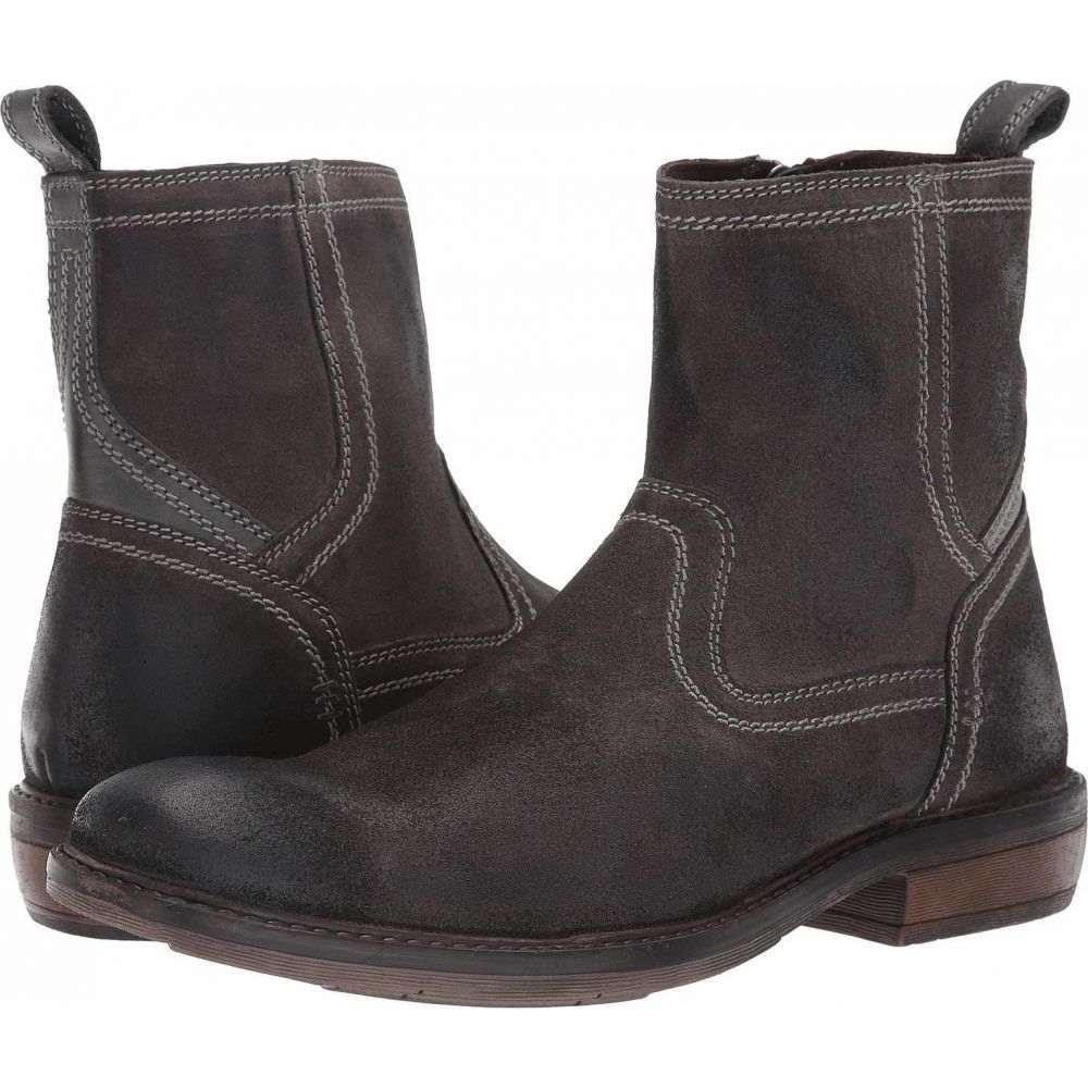 ロエン Roan メンズ ブーツ シューズ・靴【Crestone II】Dark Grey Leather/Suede