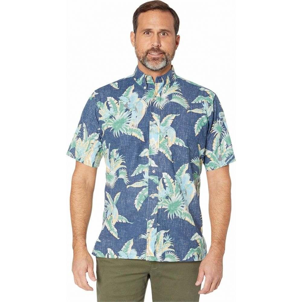 レインスプーナー Reyn Spooner メンズ シャツ トップス【Petit Paradise Classic Fit Weekend Wash Shirt】Dress Blues