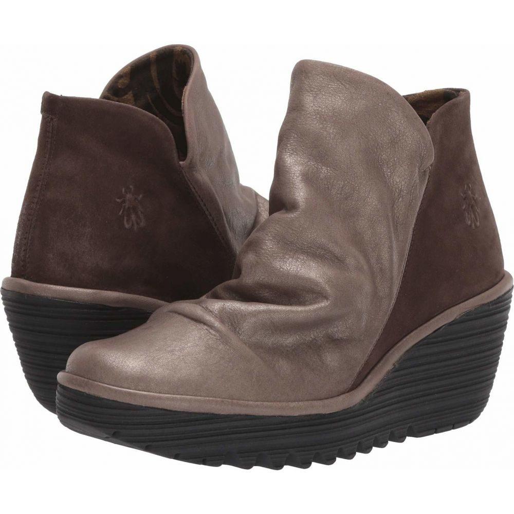フライロンドン FLY LONDON レディース ブーツ シューズ・靴【Yip】Grey/Grey Janeda/Ranch