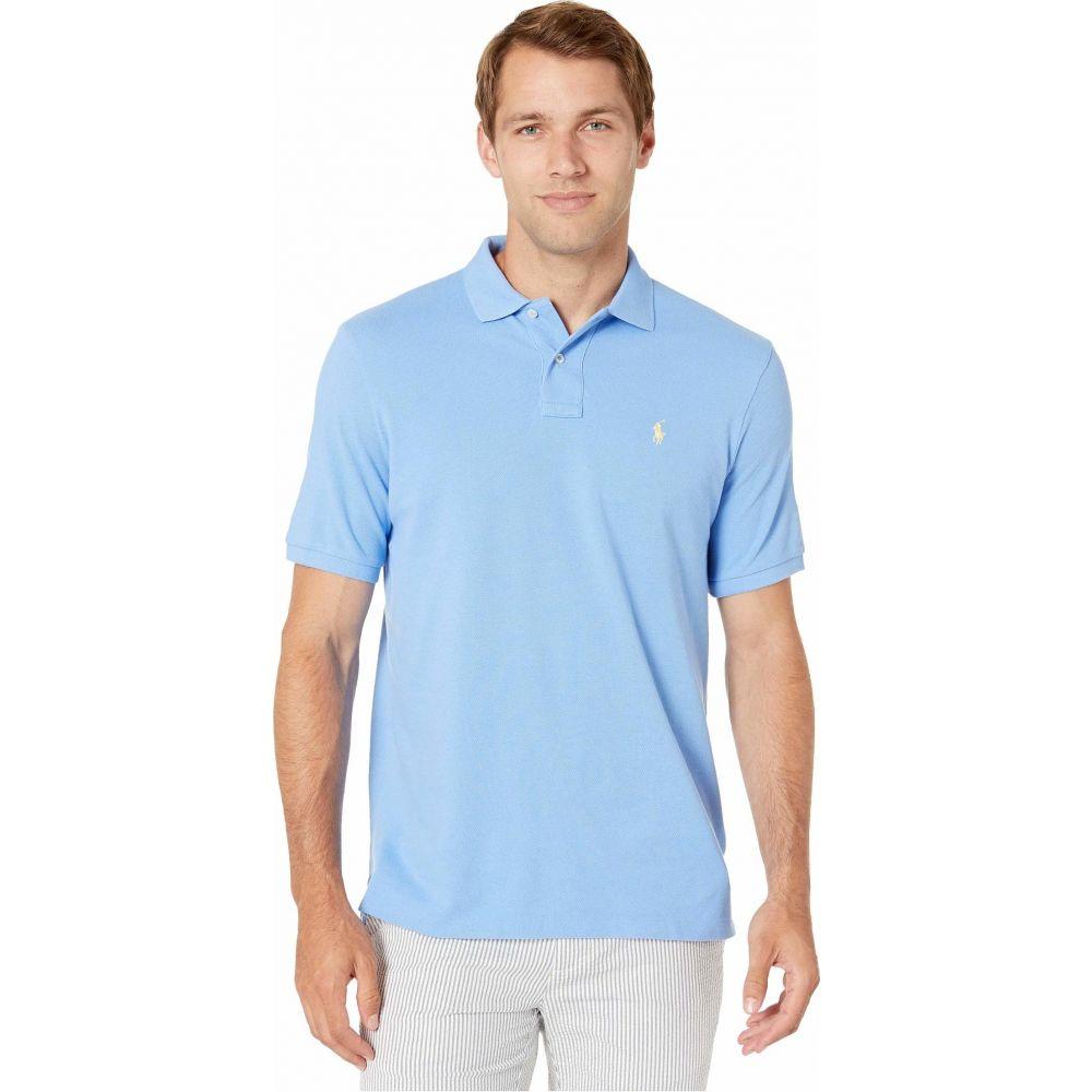 ラルフ ローレン Polo Ralph Lauren メンズ ポロシャツ トップス【Classic Fit Mesh Polo】Cabana Blue