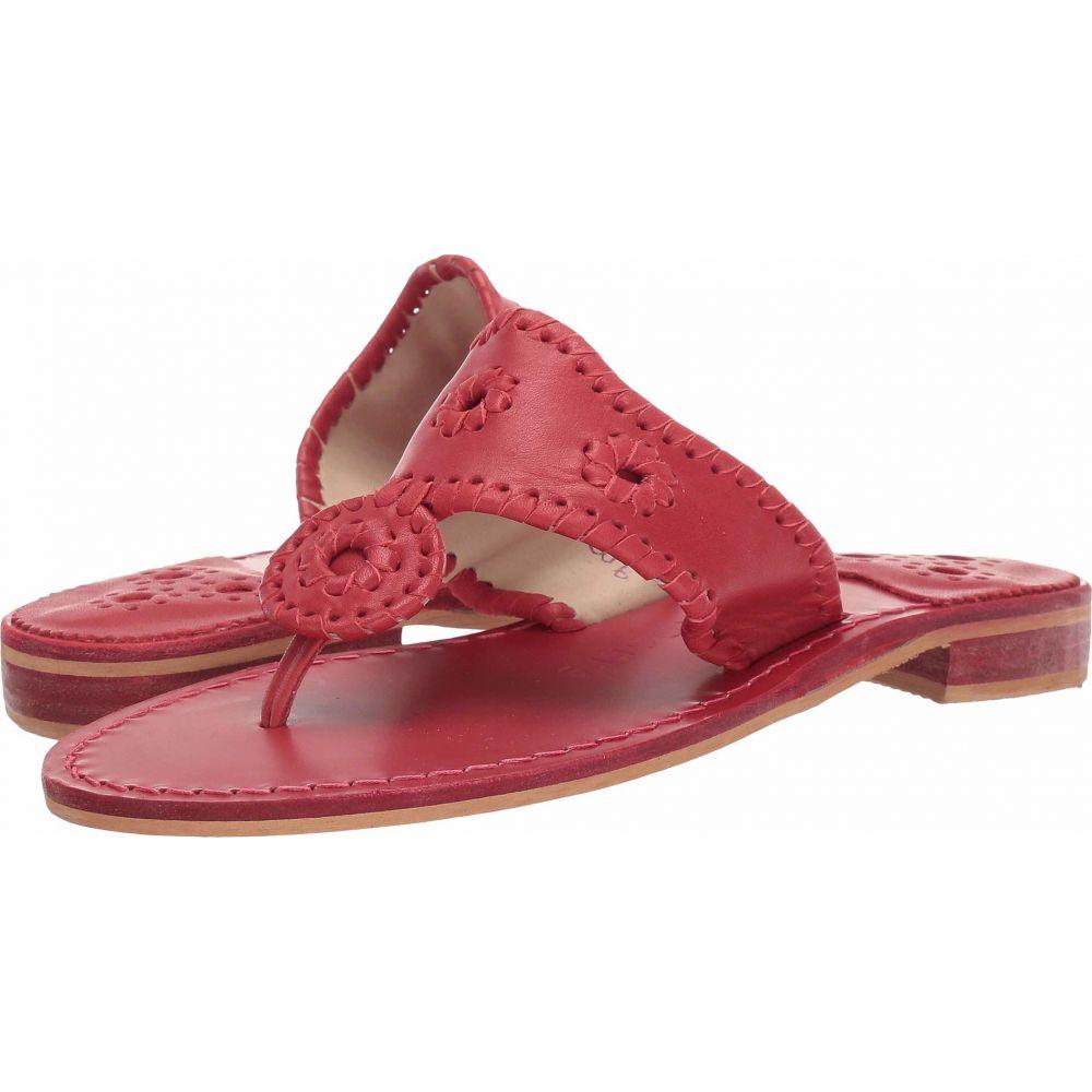 ジャックロジャース Jack Rogers レディース サンダル・ミュール シューズ・靴【Natural Jacks】Crimson