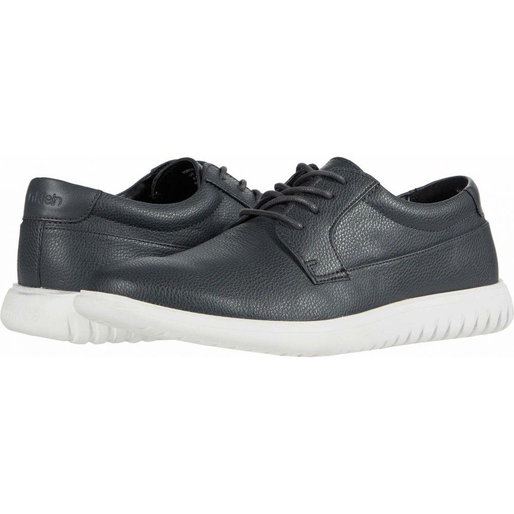 革靴・ビジネスシューズ カルバンクライン Klein Smooth メンズ Calvin シューズ・靴【Toren】Grey Tumbled