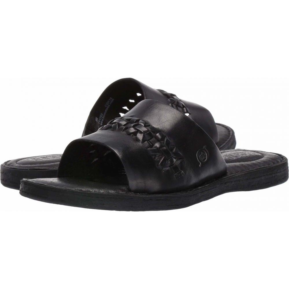 ボーン Born レディース サンダル・ミュール シューズ・靴【St. Francis】Black Full Grain Leather