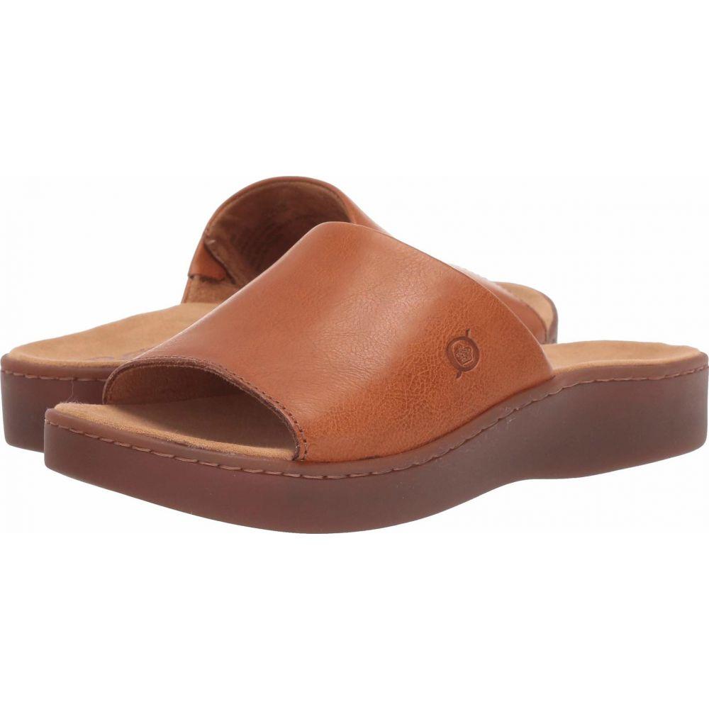 ボーン Born レディース サンダル・ミュール シューズ・靴【Ottawa】Brown Full Grain Leather