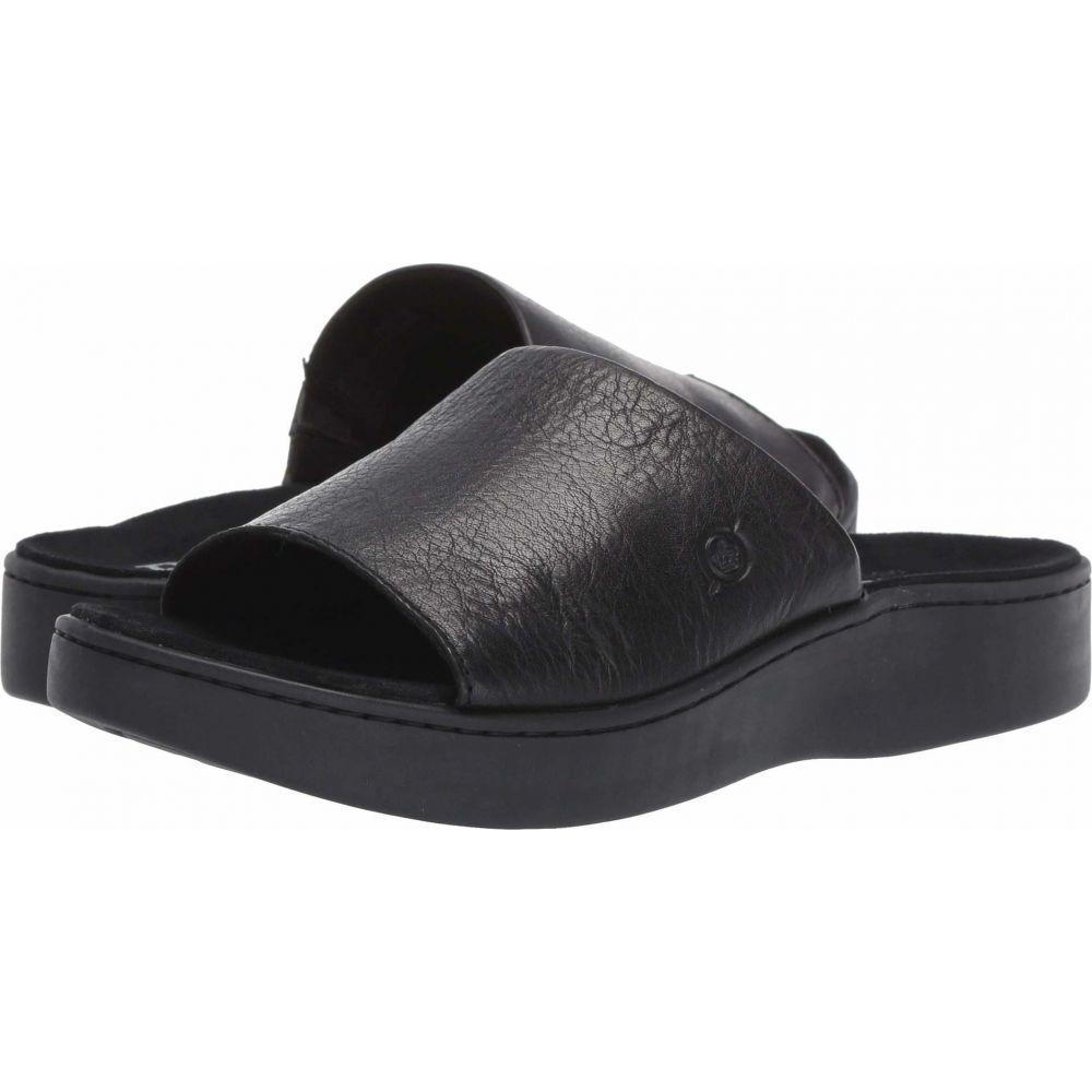 ボーン Born レディース サンダル・ミュール シューズ・靴【Ottawa】Black Full Grain Leather