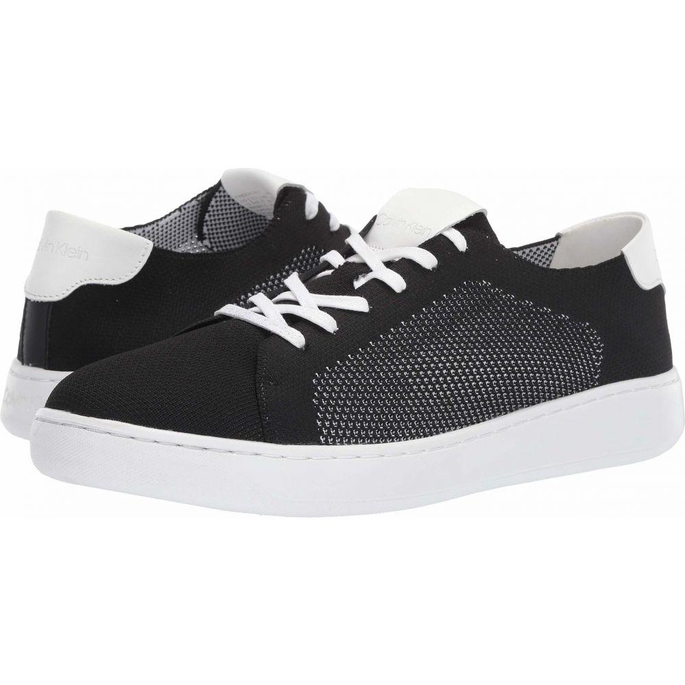 カルバンクライン Calvin Klein メンズ スニーカー シューズ・靴【Freeport】Black Knit