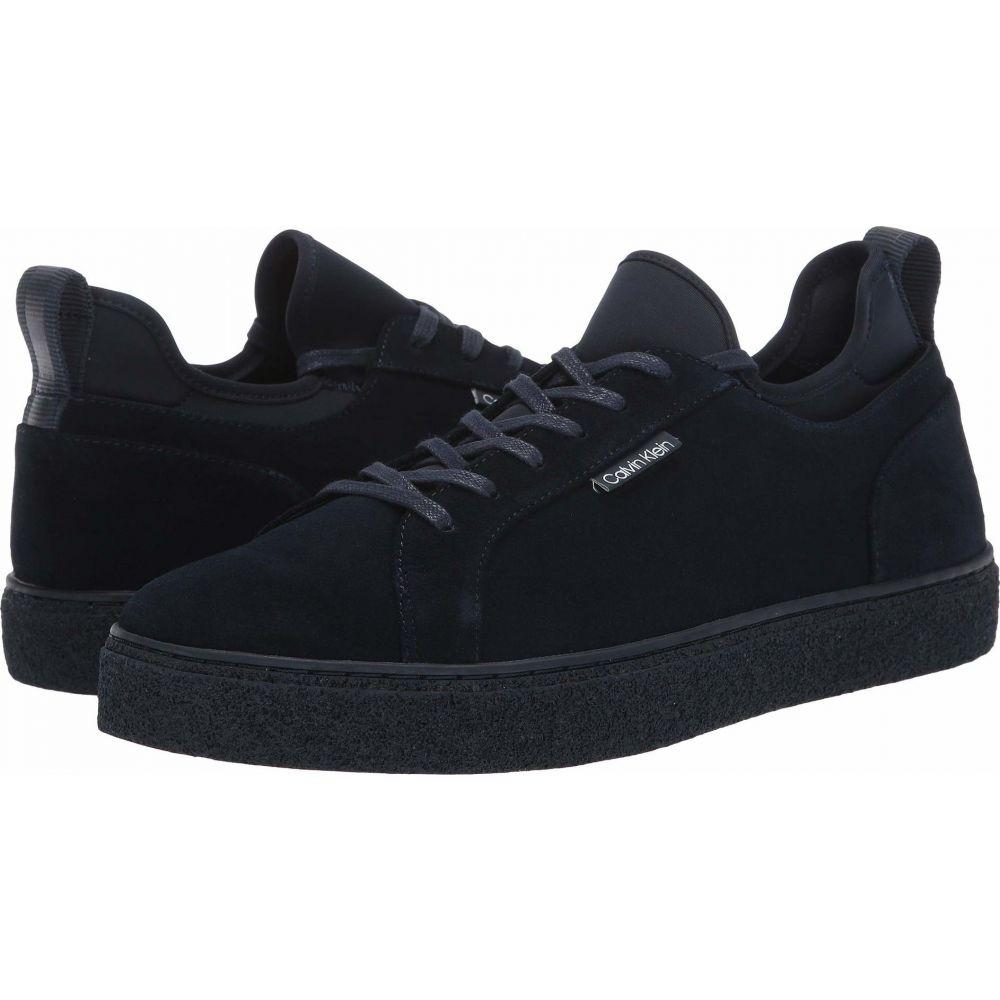 カルバンクライン Calvin Klein メンズ スニーカー シューズ・靴【Ellison Hi】Dark Navy Suede/Neoprene