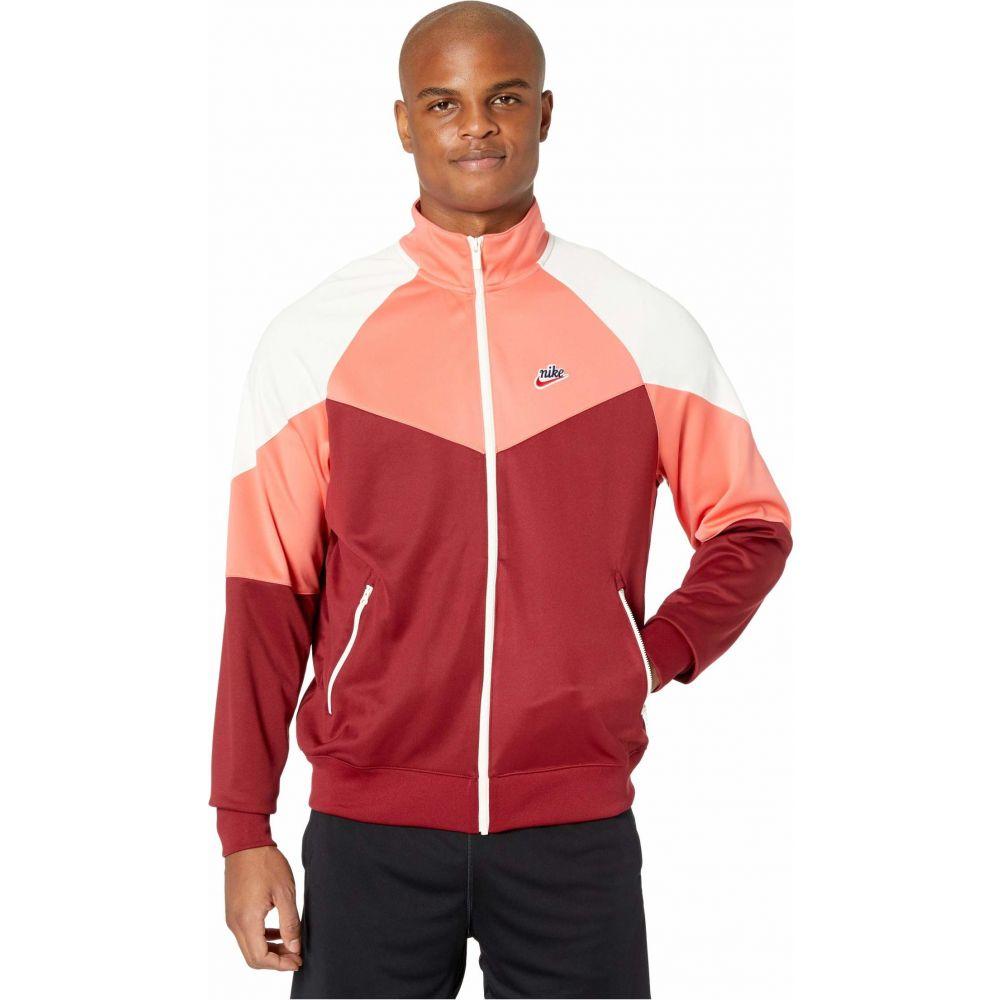 ナイキ Nike メンズ ジャケット アウター【NSW Heritage Windrunner Jacket Poly Knit】Team Red/Magic Ember/Sail