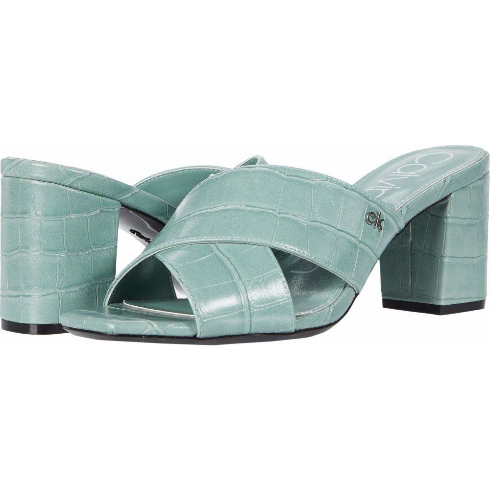 カルバンクライン Calvin Klein レディース サンダル・ミュール シューズ・靴【Carsi】Petal Green