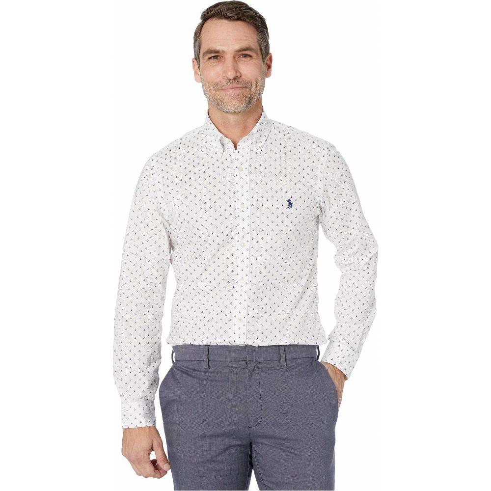 ラルフ ローレン Polo Ralph Lauren メンズ シャツ トップス【Slim Fit Poplin Shirt】Mini Anchor Dot