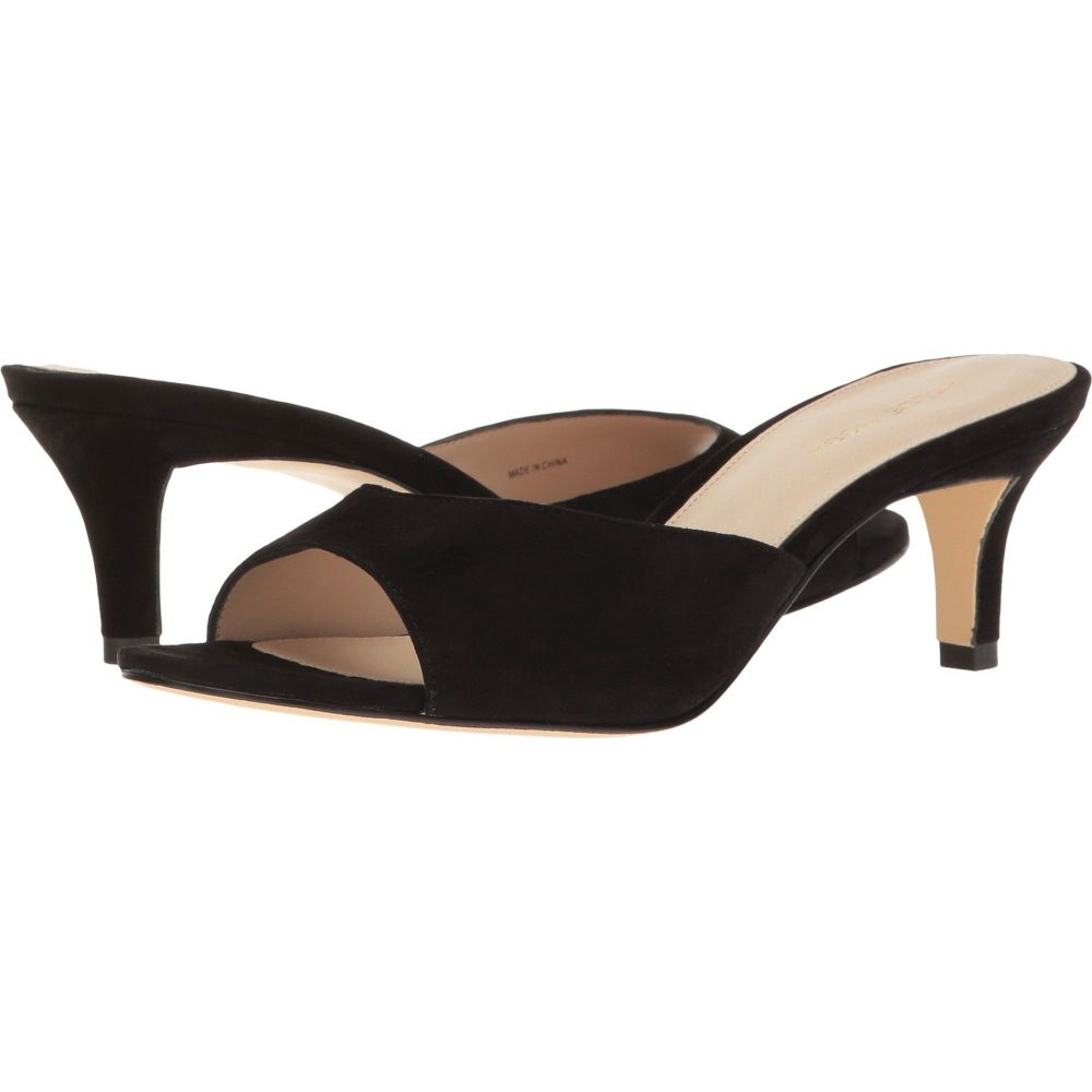 ペレ モーダ Pelle Moda レディース サンダル・ミュール シューズ・靴【Bex】Black Suede