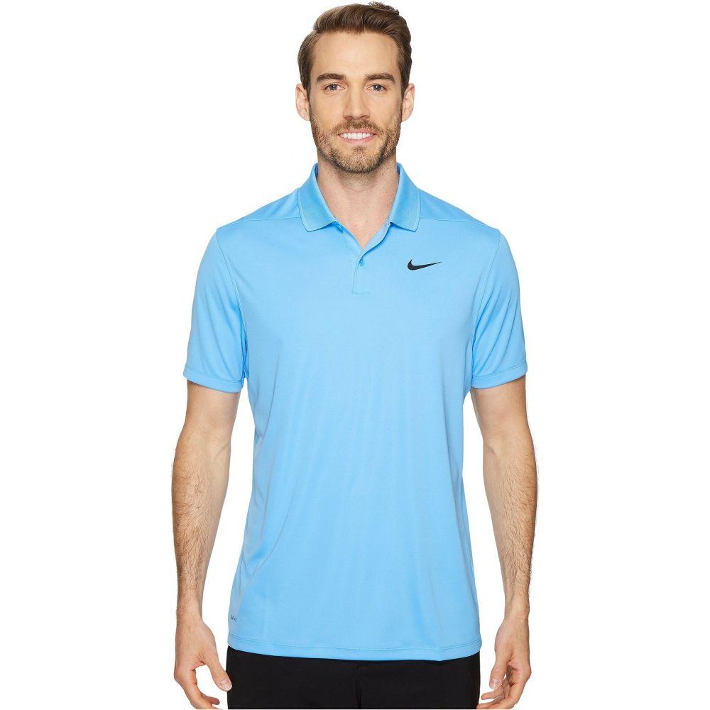 ナイキ Nike Golf メンズ ポロシャツ ドライフィット トップス【Dri-FIT Victory Polo】University Blue/Black