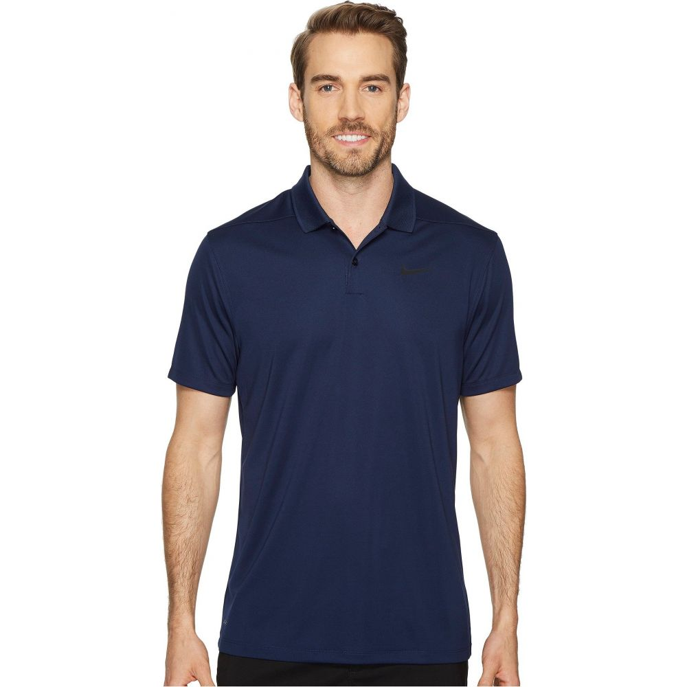 ナイキ Nike Golf メンズ ポロシャツ ドライフィット トップス【Dri-FIT Victory Polo】College Navy/Black