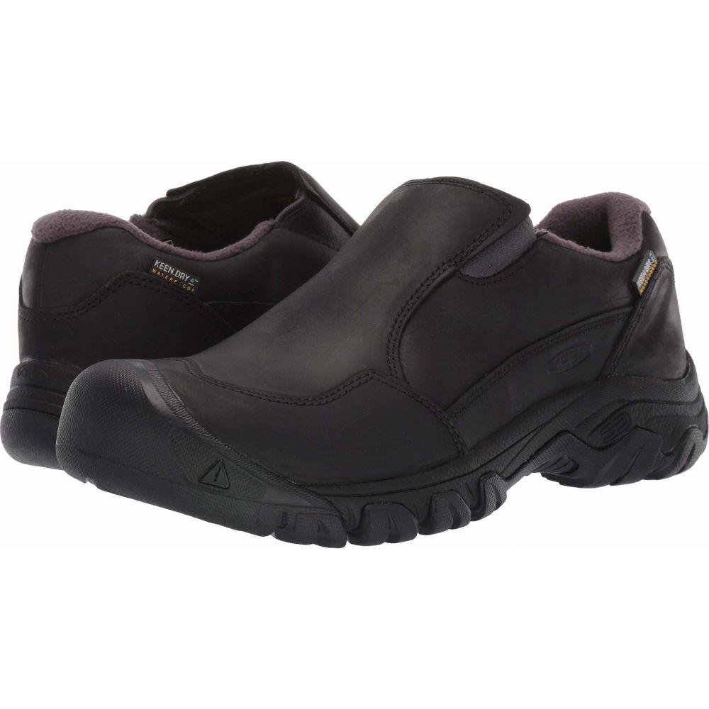 デポー キーン レディース ハイキング 登山 シューズ NEW売り切れる前に☆ 靴 Black Keen Slip-On サイズ交換無料 Waterproof III Hoodoo