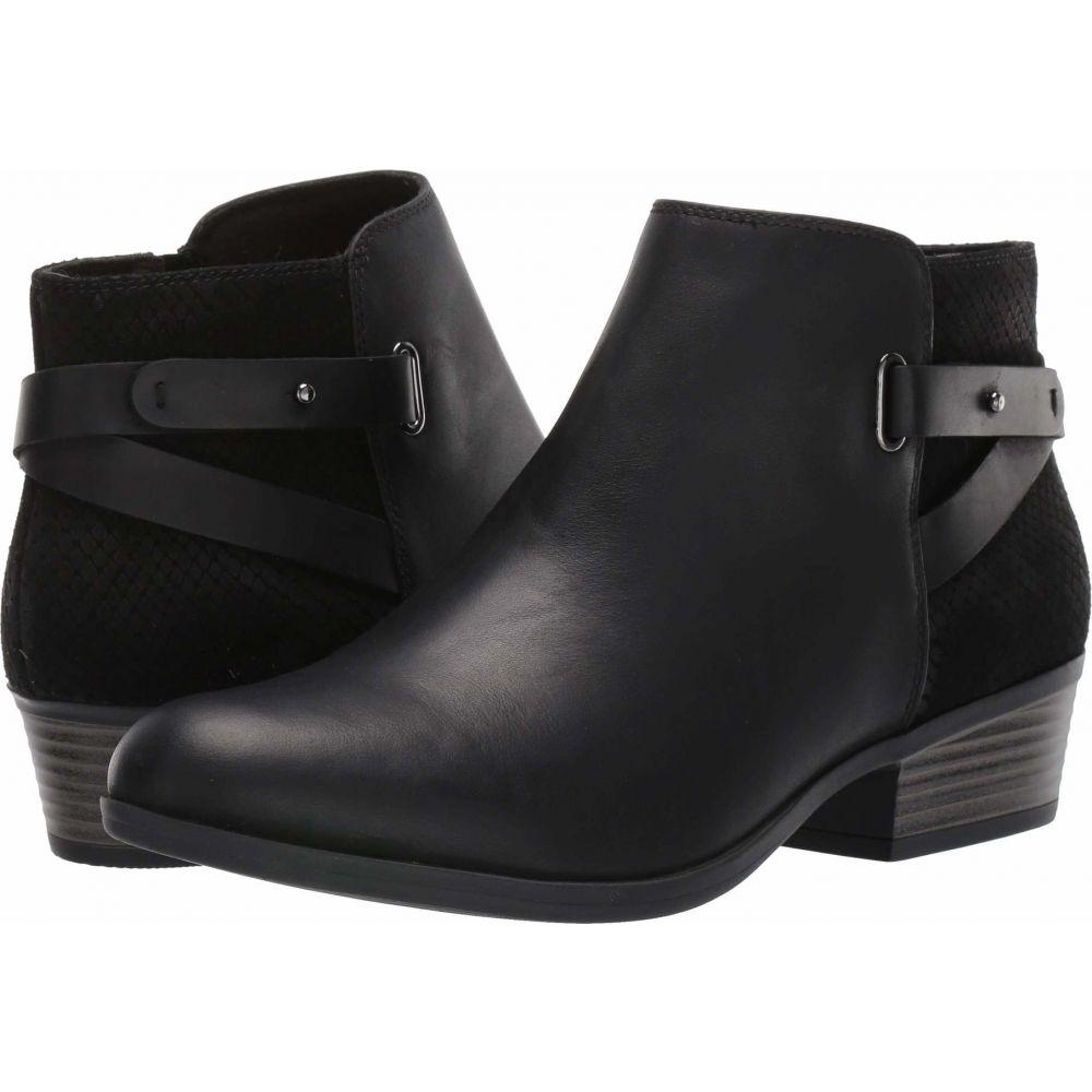 クラークス Clarks レディース ブーツ シューズ・靴【Addiy Gladys】Black Leather