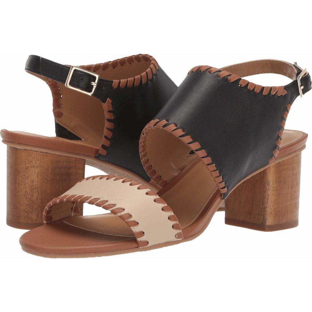 ジャックロジャース Jack Rogers レディース サンダル・ミュール シューズ・靴【Sloane Mid Heel】Black/Luggage