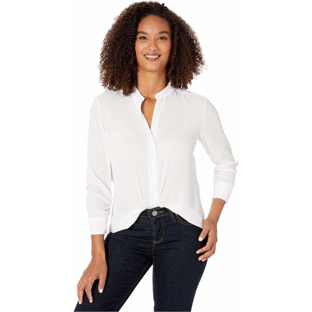 カレンケーン Karen Kane レディース ブラウス・シャツ トップス【Shirred Sleeve Shirt】Off-White