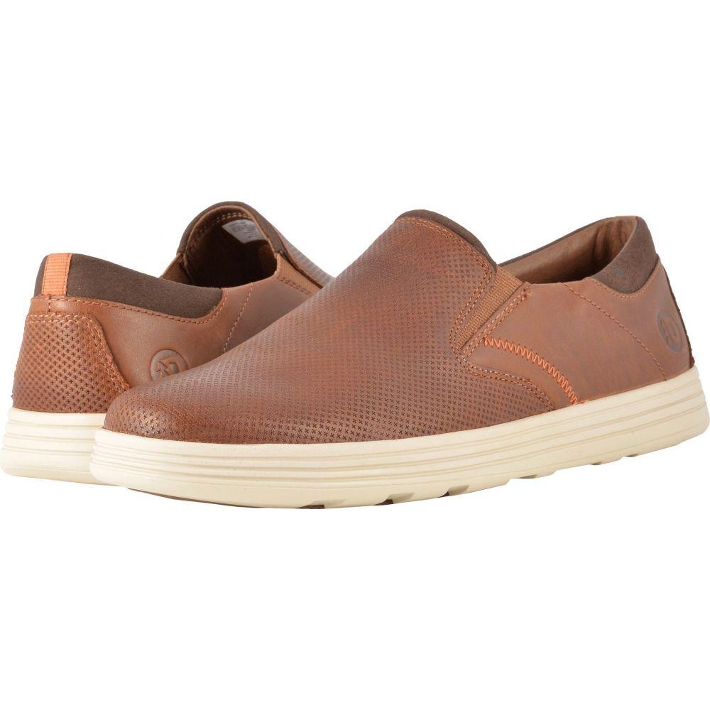 ダナム Dunham メンズ スリッポン・フラット シューズ・靴【Colchester Slip-On】Brown