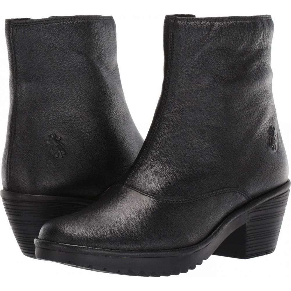 フライロンドン FLY LONDON レディース ブーツ シューズ・靴【WINE054FLY】Black Mousse