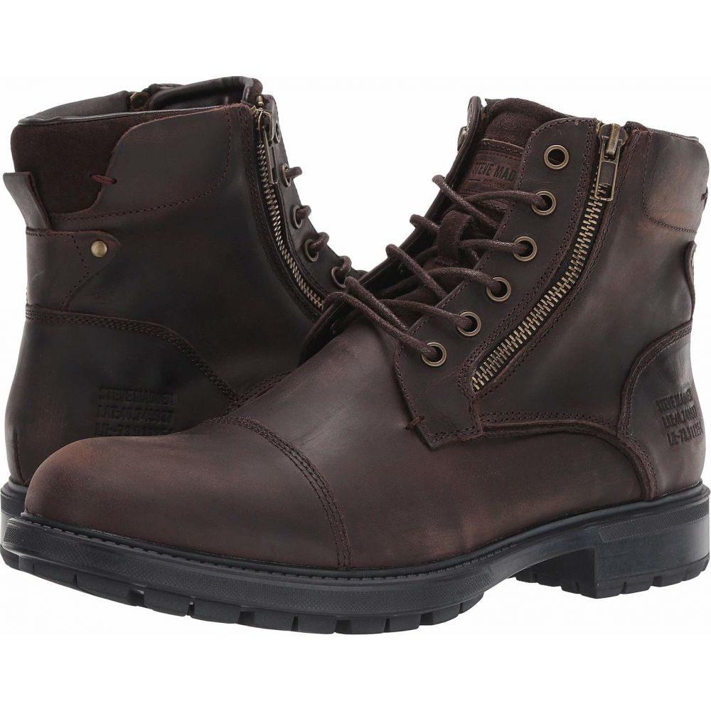 スティーブ マデン Steve Madden メンズ ブーツ シューズ・靴【Self Made Ryker】Brown Leather