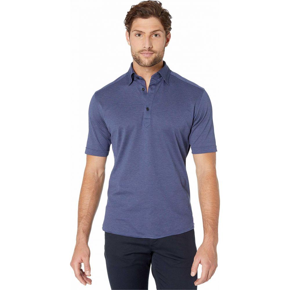 イートン Eton メンズ ポロシャツ トップス【Classic Polo】Blue