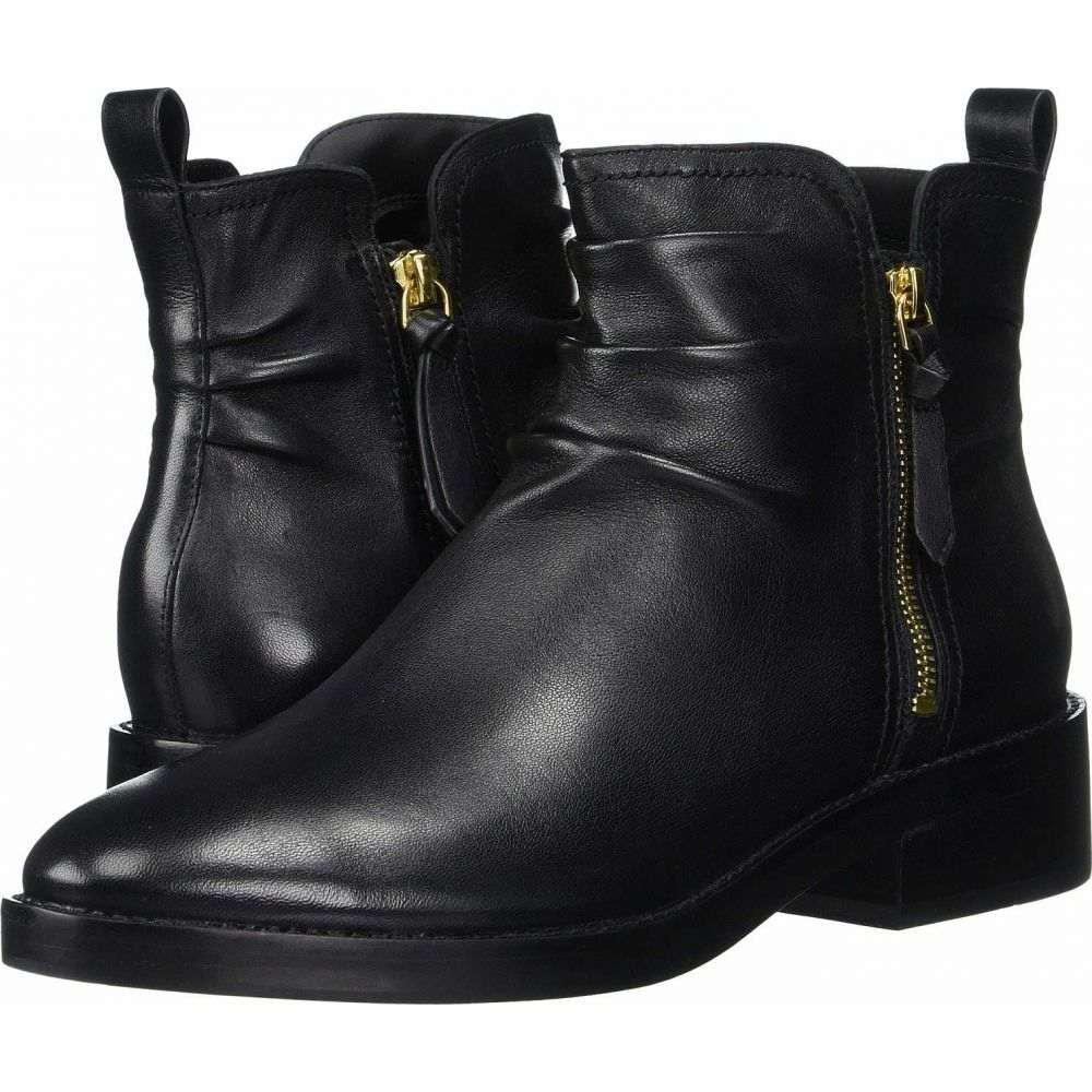 コールハーン Cole Haan レディース ブーツ シューズ・靴【Harringtion Grand Slouch Bootie】Black Leather/Black