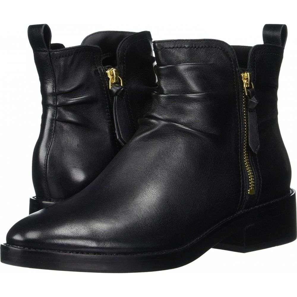 コールハーン Cole Haan レディース ブーツ シューズ・靴【Harringtion Grand Slouch Bootie】Black Leather/Black