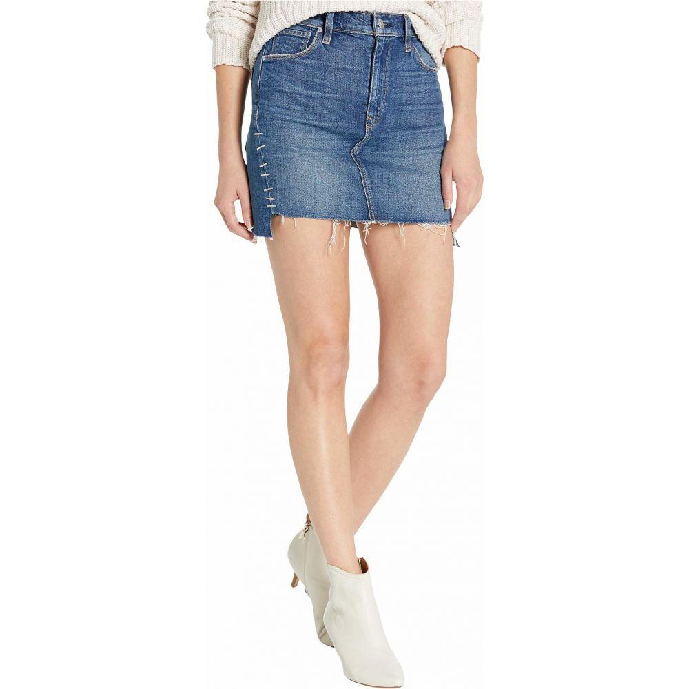 ハドソンジーンズ Hudson Jeans レディース スカート 【Viper Skirt in Remain】Remain