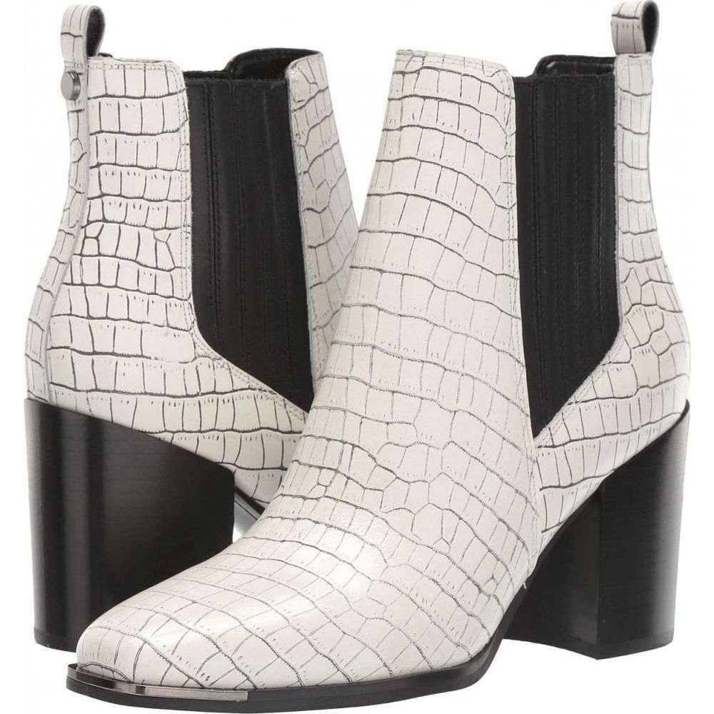 マーク フィッシャー Marc Fisher LTD レディース ブーツ シューズ・靴【Taline】White/Black Croco Leather
