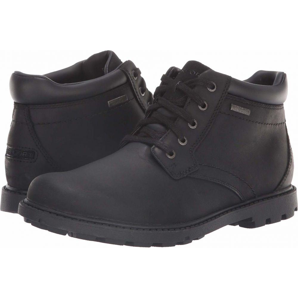 ロックポート Rockport メンズ ブーツ シューズ・靴【Rugged Bucks Waterproof Boot】Black II