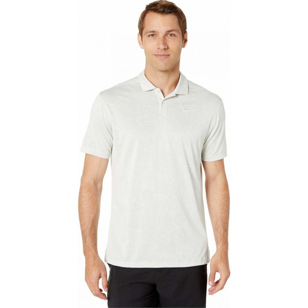ナイキ Nike Golf メンズ ポロシャツ トップス【Breathe Vapor Jacquard Polo】White/Pure Platinum/Pure Platinum