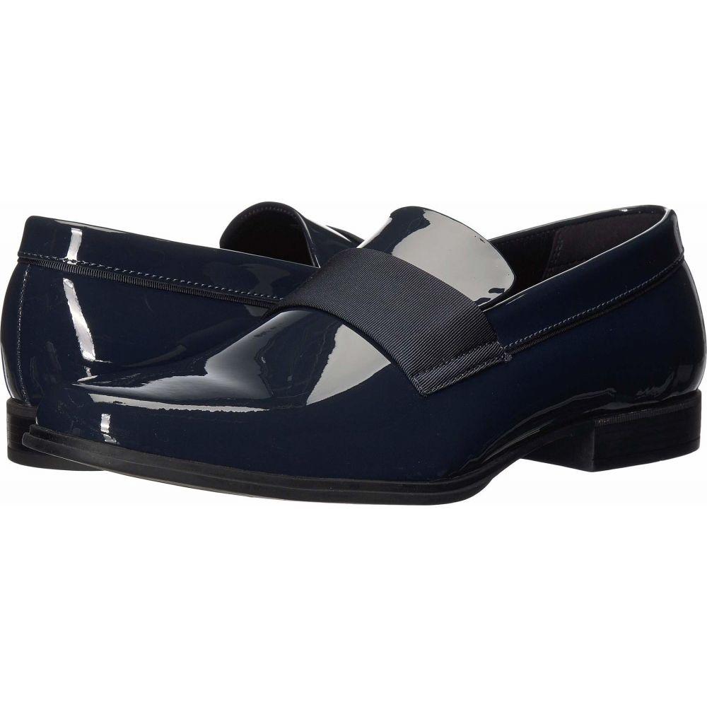 カルバンクライン Calvin Klein メンズ ローファー シューズ・靴【Demetrius】Dark Navy Patent
