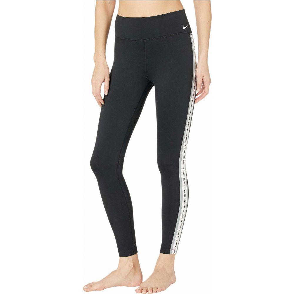 ナイキ Nike レディース タイツ・ストッキング インナー・下着【One Tights】Black/Particle Grey/White/White