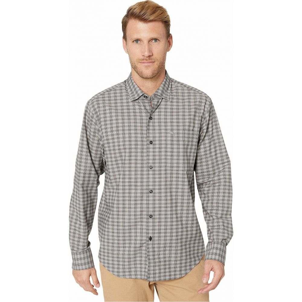 トミー バハマ Tommy Bahama メンズ シャツ トップス【Newport Cimarron Check IslandZone Shirt】Bala Shark