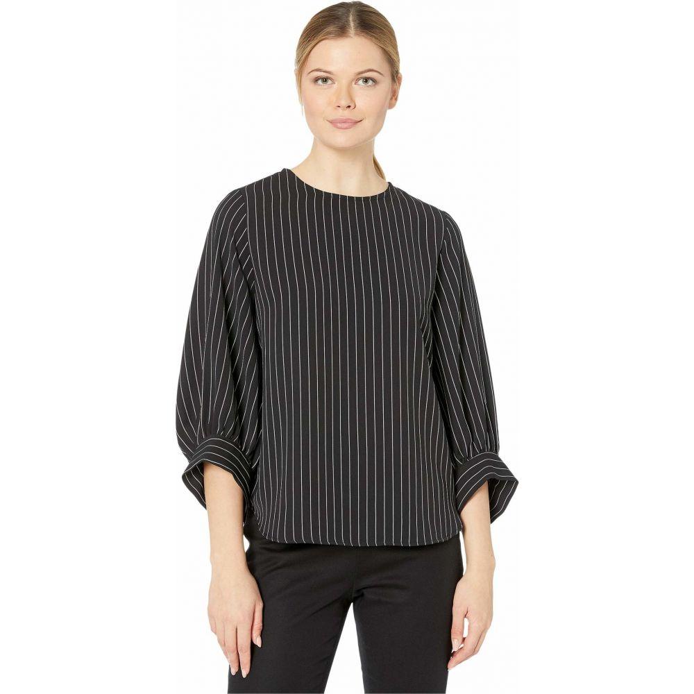 カレンケーン Karen Kane レディース ブラウス・シャツ トップス【Blouson Sleeve Top】Stripe