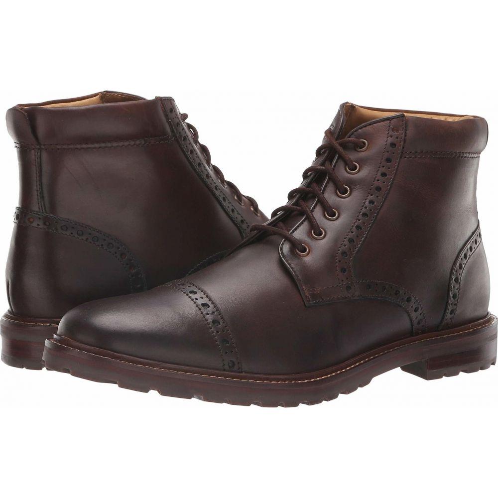 フローシャイム Florsheim メンズ ブーツ シューズ・靴【Estabrook Cap Toe Boot】Brown Crazy Horse