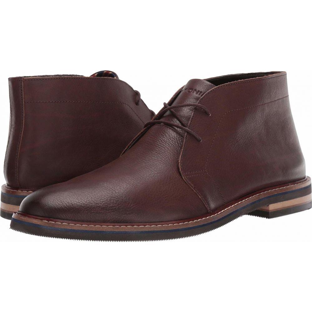 ボストニアン Bostonian メンズ ブーツ シューズ・靴【Dezmin Mid】Dark Brown Leather