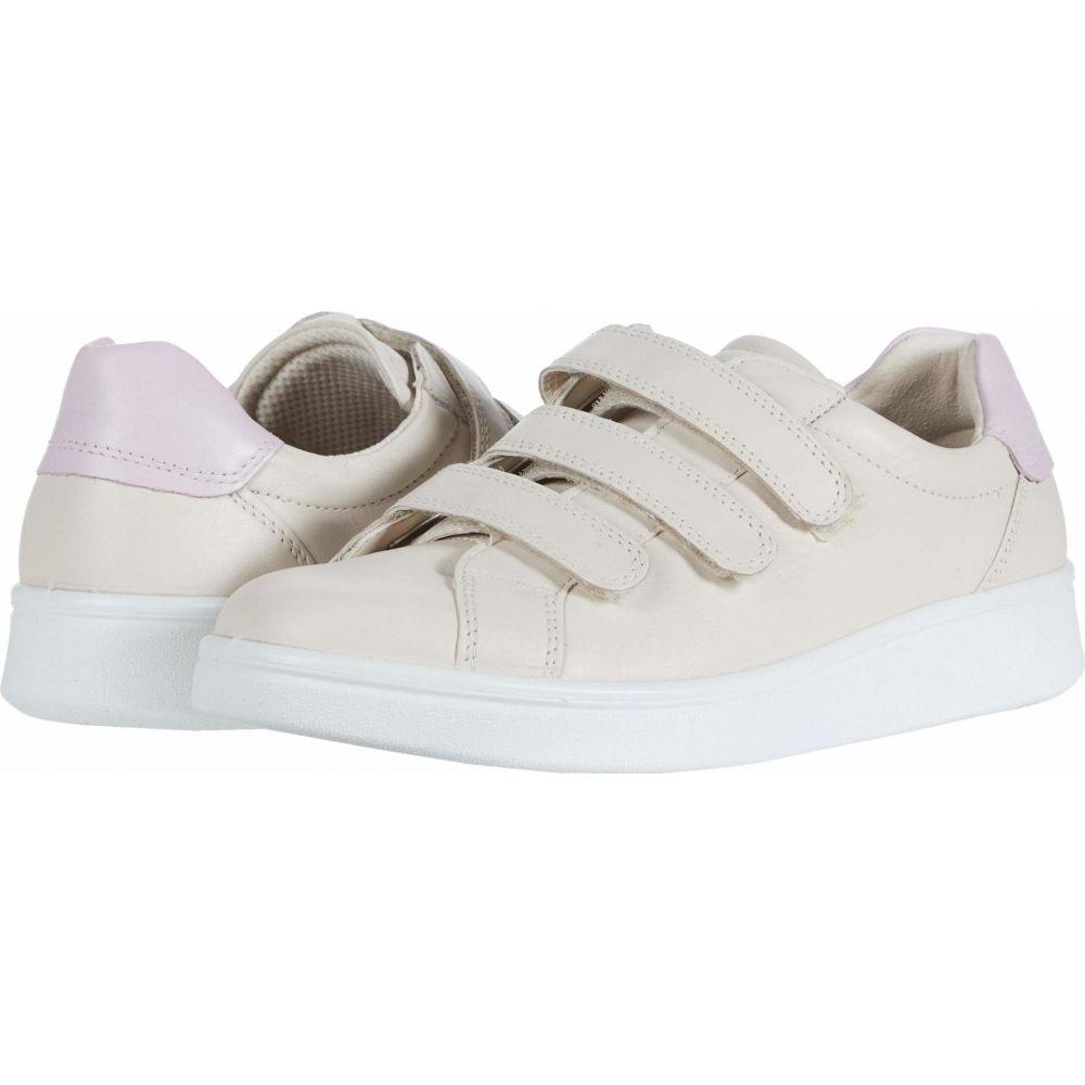 エコー ECCO レディース スニーカー シューズ・靴【Soft 4 Three Strap Sneaker】Vanilla/Blossom Rose Cow Leather/Cow Leather