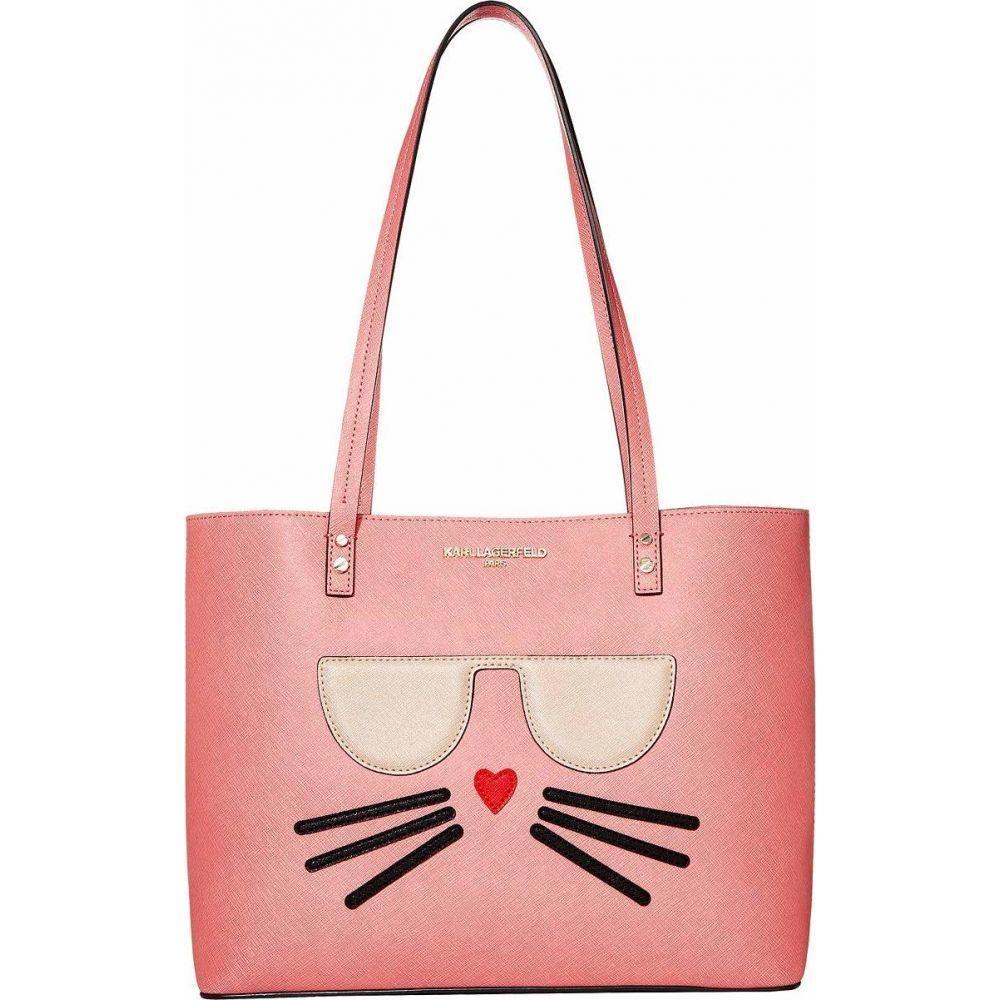 カール ラガーフェルド Karl Lagerfeld Paris レディース トートバッグ バッグ【Maybelle Tote】Pink