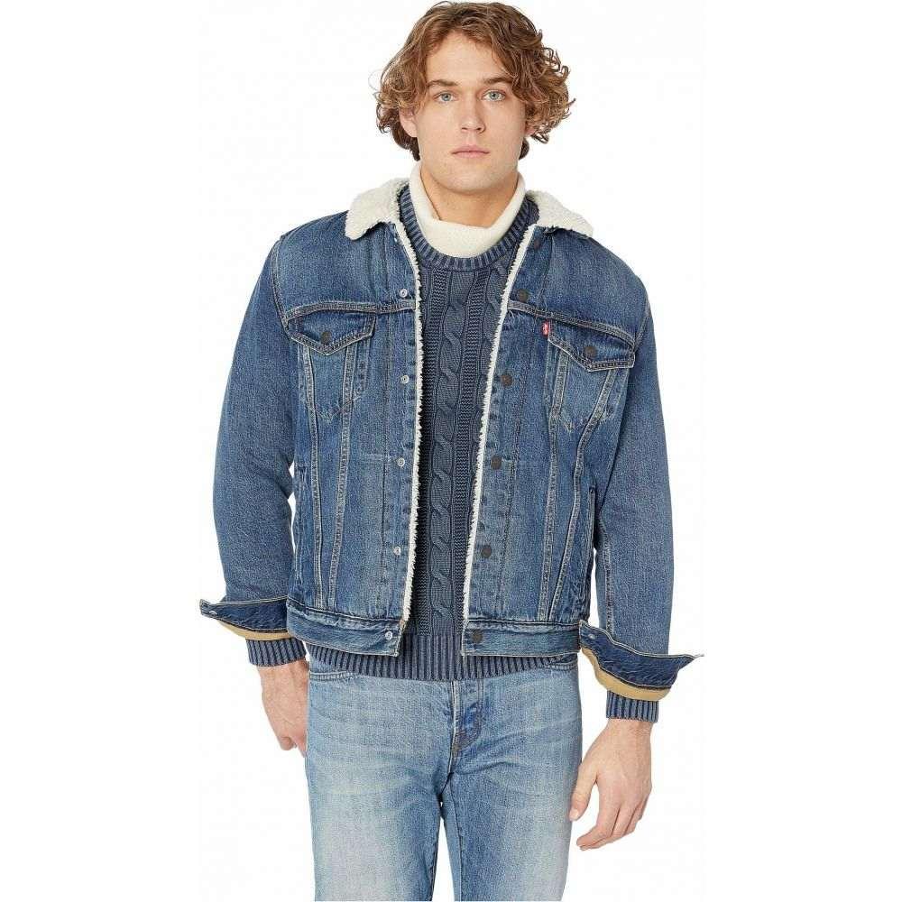 リーバイス Levi's Premium メンズ ジャケット アウター【Type III Sherpa Trucker Jacket】Mays