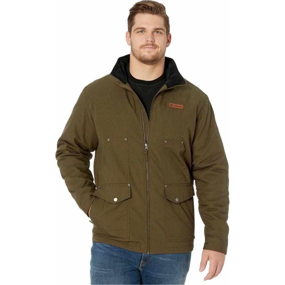 コロンビア Columbia メンズ ジャケット 大きいサイズ アウター【Big & Tall Loma Vista Jacket】Olive Green/Black