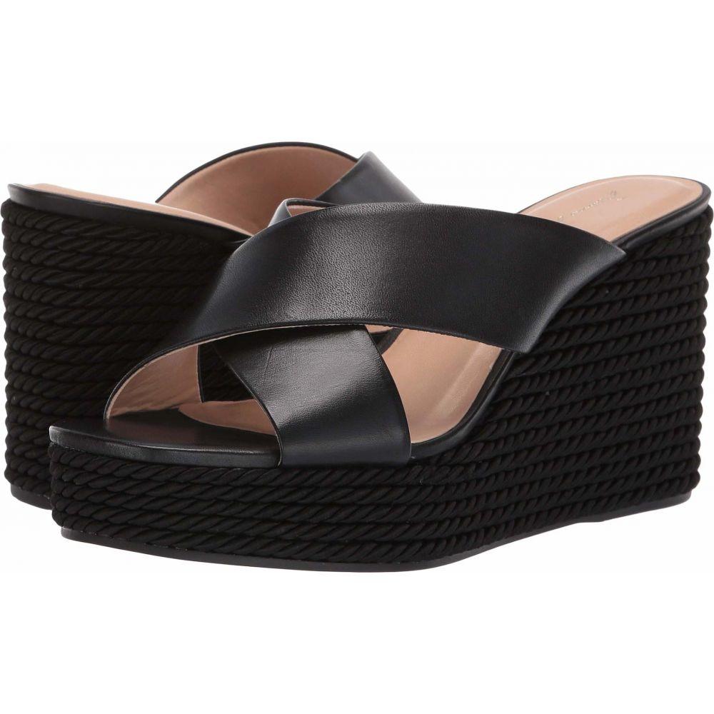 マッテオ マッシモ Massimo Matteo レディース サンダル・ミュール ウェッジソール シューズ・靴【Abigail Wedge】Black