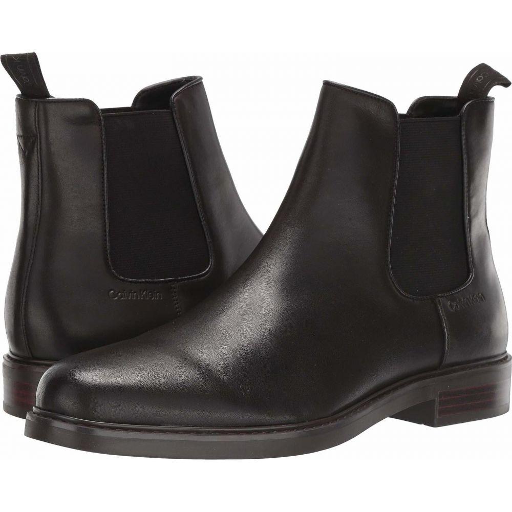カルバンクライン Calvin Klein メンズ ブーツ シューズ・靴【Fenwick】Dark Brown Crust Leather