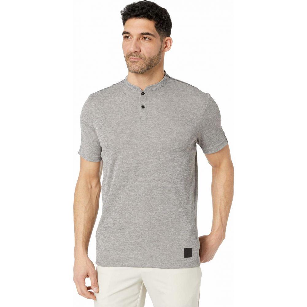 アディダス adidas Golf メンズ ポロシャツ トップス【Adicross No Show Polo Shirt】Black Melange/Black Melange